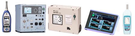 ■岩崎電子が扱う計測器の一例